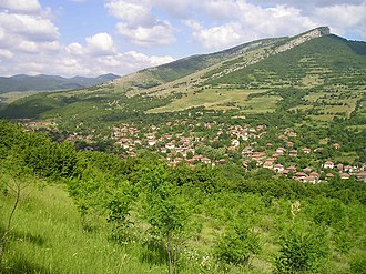 Northern Bulgaria - Image: Overview of village Turgovishte