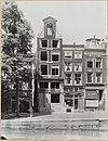 overzicht gevelwand waarin een grachtenhuis met schade - amsterdam - 20319384 - rce