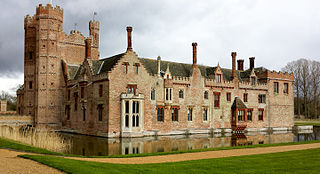 Oxburgh Hall Grade I listed historic house museum in Breckland District, United Kingdom