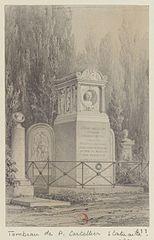 Tombeau de P. Cartelier, statuaire. Cimetière du Père-Lachaise