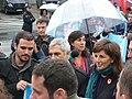 P1180574 Alberto Garzón, Gaspar LLamazares, Yolanda Díaz, Manifestación xuízo Prestige.JPG