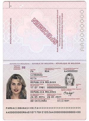 образец паспортных данных гражданина рф