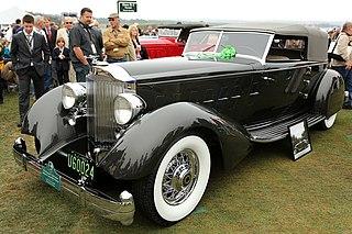 Packard Twelve Motor vehicle