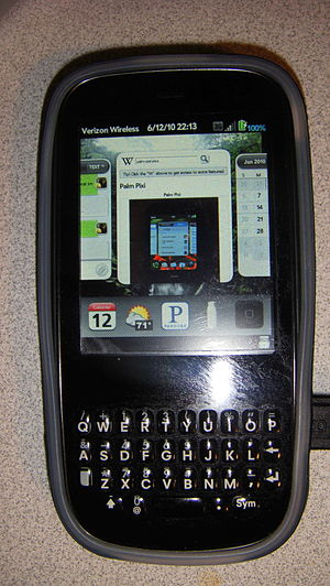 picture of a palm pixi plus