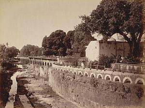 Panchakki - Panchakki, Baba Shah Mosafar Dargah 1880s