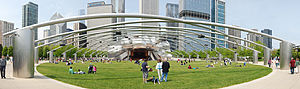 English: Jay Pritzker Pavilion, Millenium Park...