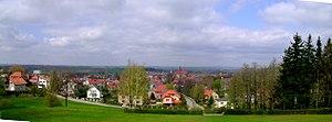 Ziębice - Image: Panorama Ziębice panoramio