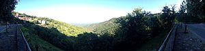 Bonnevaux, Gard - A panorama of Bonnevaux