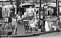 Paris 1971, Place du Tertre. Fortepan 87488.jpg