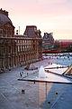 Paris sunset from the Louvre window.jpg