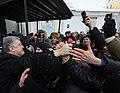 Participation of the President of Ukraine in the festive Christmas liturgy in Saint Sophia, Kiev 24.jpeg