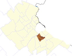 location of Lomas de Zamora Partido in Greater Buenos Aires