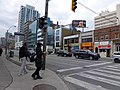 Parts of panoramas of intersections where there will be Eglinton Crosstown LRT stations, GPS embedded, taken 2013 04 25 (8) (8681160899).jpg