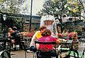 Pat O'Briens Bar Fountain New Orleans 1985.jpg