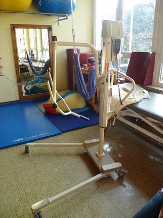 Patient lift - A patient lift