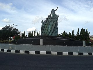 Pekanbaru City in Riau, Indonesia