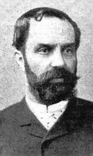 Paul Devès - Paul Devès from Le Monde illustré, 18 November 1899