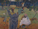 Paul Gauguin - Among the mangoes at Martinique - Google Art Project.jpg