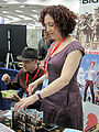 Paul Guinan & Anina Bennett at WonderCon 2010 3.JPG