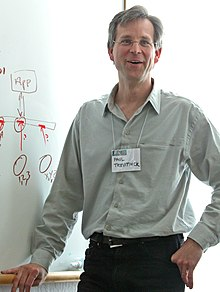 Paul Trevithick at the Internet Identity Workshop 2006.jpg