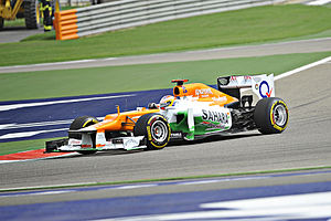 2012 Bahrain Grand Prix - Force India chose not to take part in the second free practice session.
