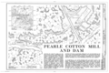Pearle Cotton Mill and Dam, Elbert County Road 245, Elberton, Elbert County, GA HAER GA,53-ELBE.V,1- (sheet 1 of 5).png