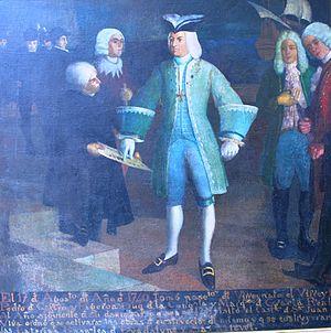 Pedro de Castro, 1st Duque de la Conquista - Pedro de Castro ordering the construction of Fort San Juan de Ulúa in Veracruz