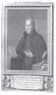 Pedro de Ribadeneira Spanish hagiologist