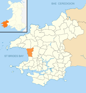 Nolton and Roch Human settlement in Wales
