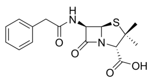 Penam - Benzylpenicillin, an example of a penam