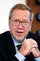 Per Stig Moeller, utrikesminister Danmark, under pressmote vid Nordiska radets session i Kopenhamn 2006.jpg