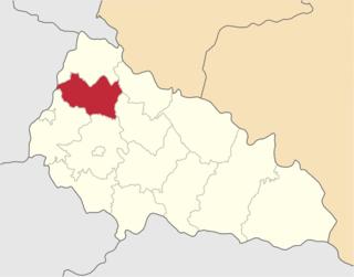 Perechyn Raion Raion in Zakarpattia Oblast, Ukraine