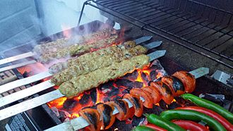 Eastern world - Image: Persian cuisine Kabab Koobideh