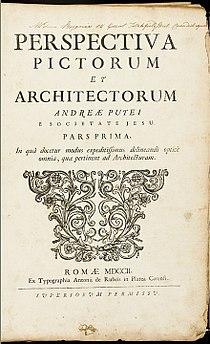 Perspectiva Pictorum et Architectorum - capa edição de 1702.jpg