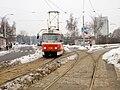 Petřiny, smyčka, odjezd tramvaje.jpg