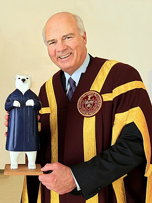 Mount Allison University - Current Chancellor, Peter Mansbridge