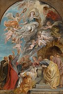Peter Paul Rubens - 'Modello' for the Assumption of the Virgin - 926 - Mauritshuis.jpg