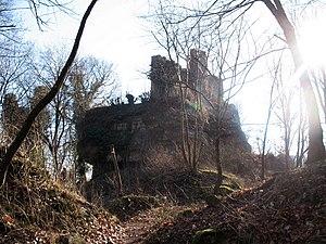 Château du Petit-Geroldseck - Image: Petit Geroldseck Chateau