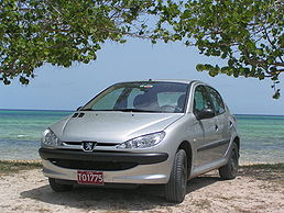5dveřový hatchback Peugeot 206