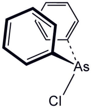 Diphenylchlorarsine - Image: Ph 2As Cl