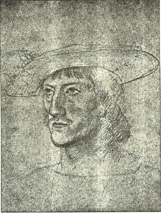 Philibert of Chalon - Portrait of Philbert Prince of Orange from a contemporary portrait.