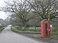 Phone box in Holt Wood - geograph.org.uk - 298879.jpg