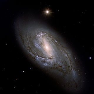 Messier 66 Intermediate spiral galaxy in the constellation Leo
