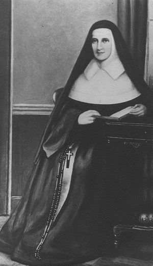 Sisters of Mercy - Mother Catherine McAuley, foundress of the Religious Sisters of Mercy