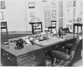 Photograph of objects on President Truman's desk in the Oval Office of the White House. - NARA - 199452.tif