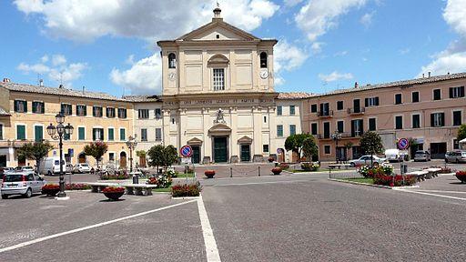 Piazza Europa San Lorenzo Nuovo