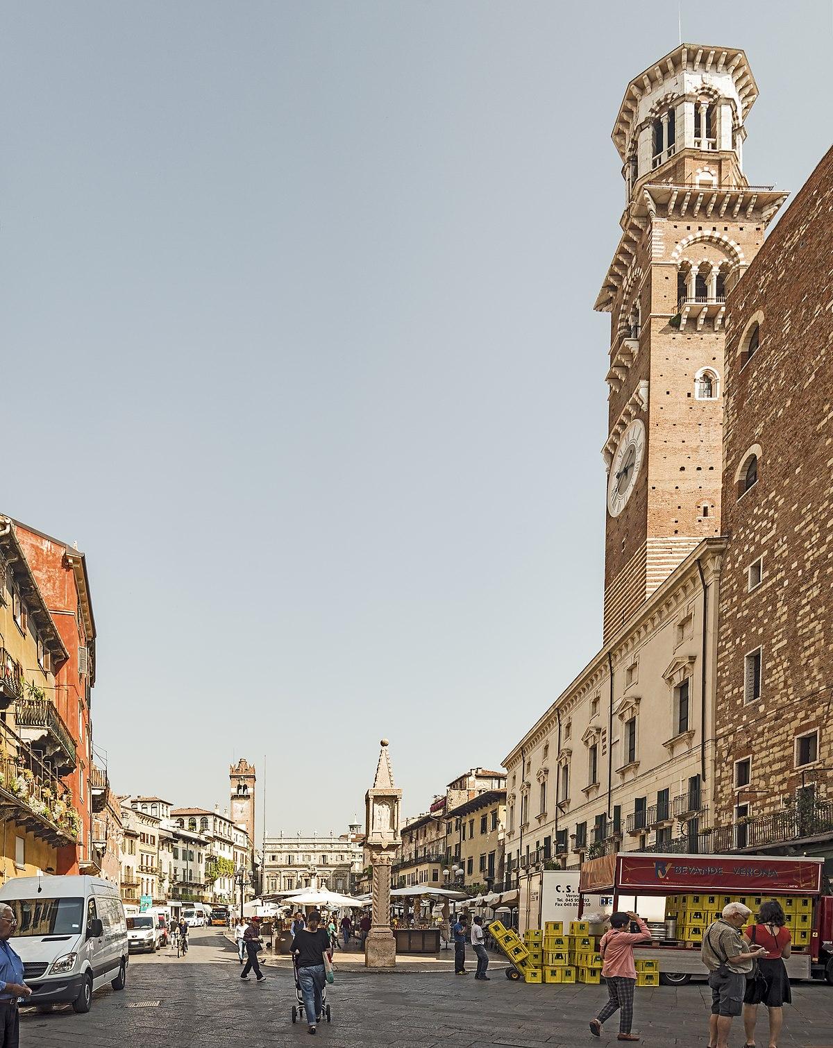 Piazza Delle Erbe Verona Wikipedia