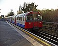 Piccadilly Line Train entering Oakwood Station, London N14 - geograph.org.uk - 1086380.jpg