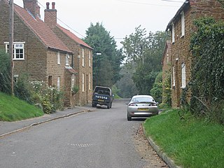 Wycomb village in United Kingdom