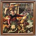 Pieter aertsen, venditrice di verdura al mercato, 1567, 01.JPG